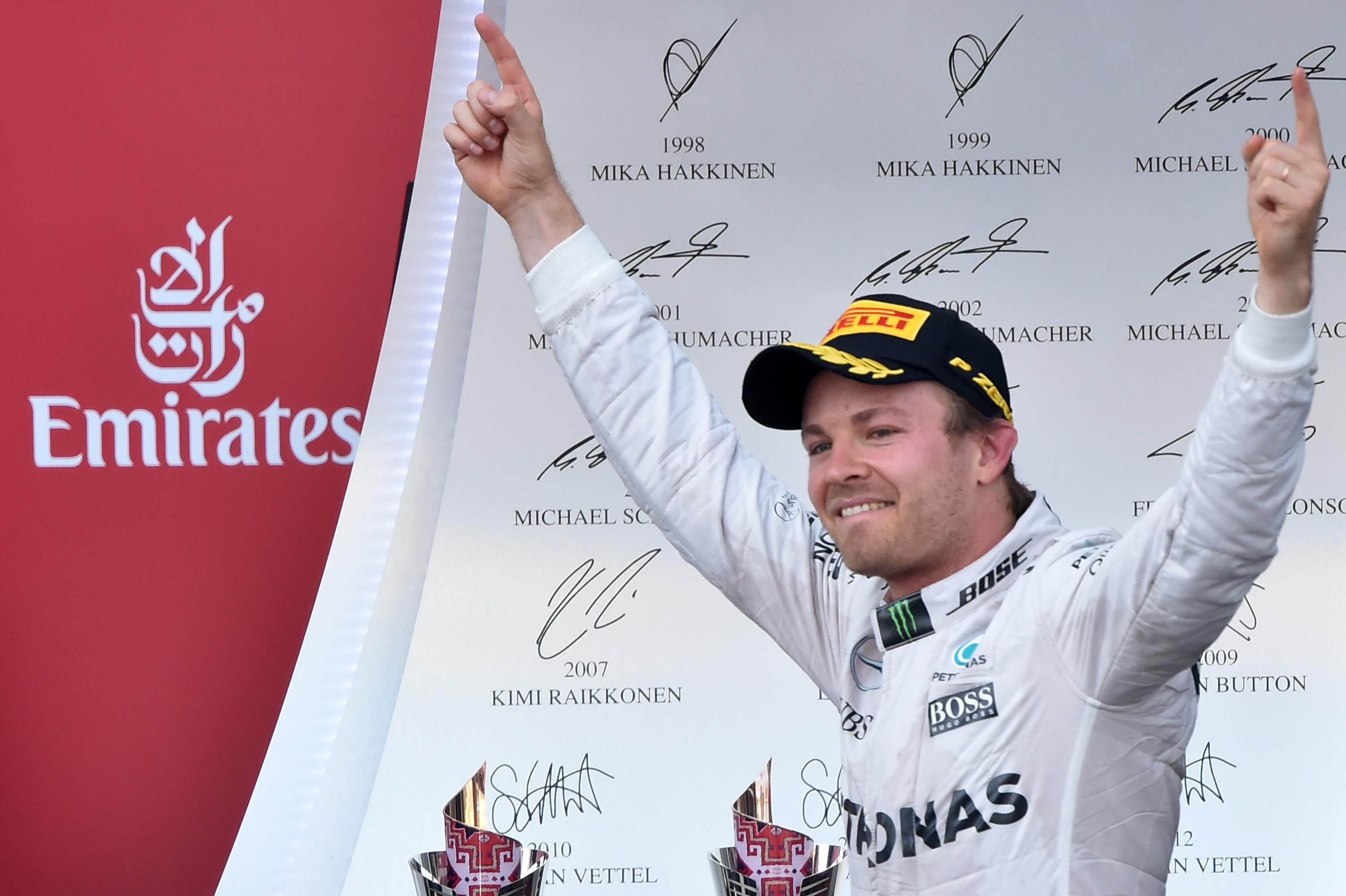 F1 - Rosberg : �Aucune inqui�tude, � fond !�