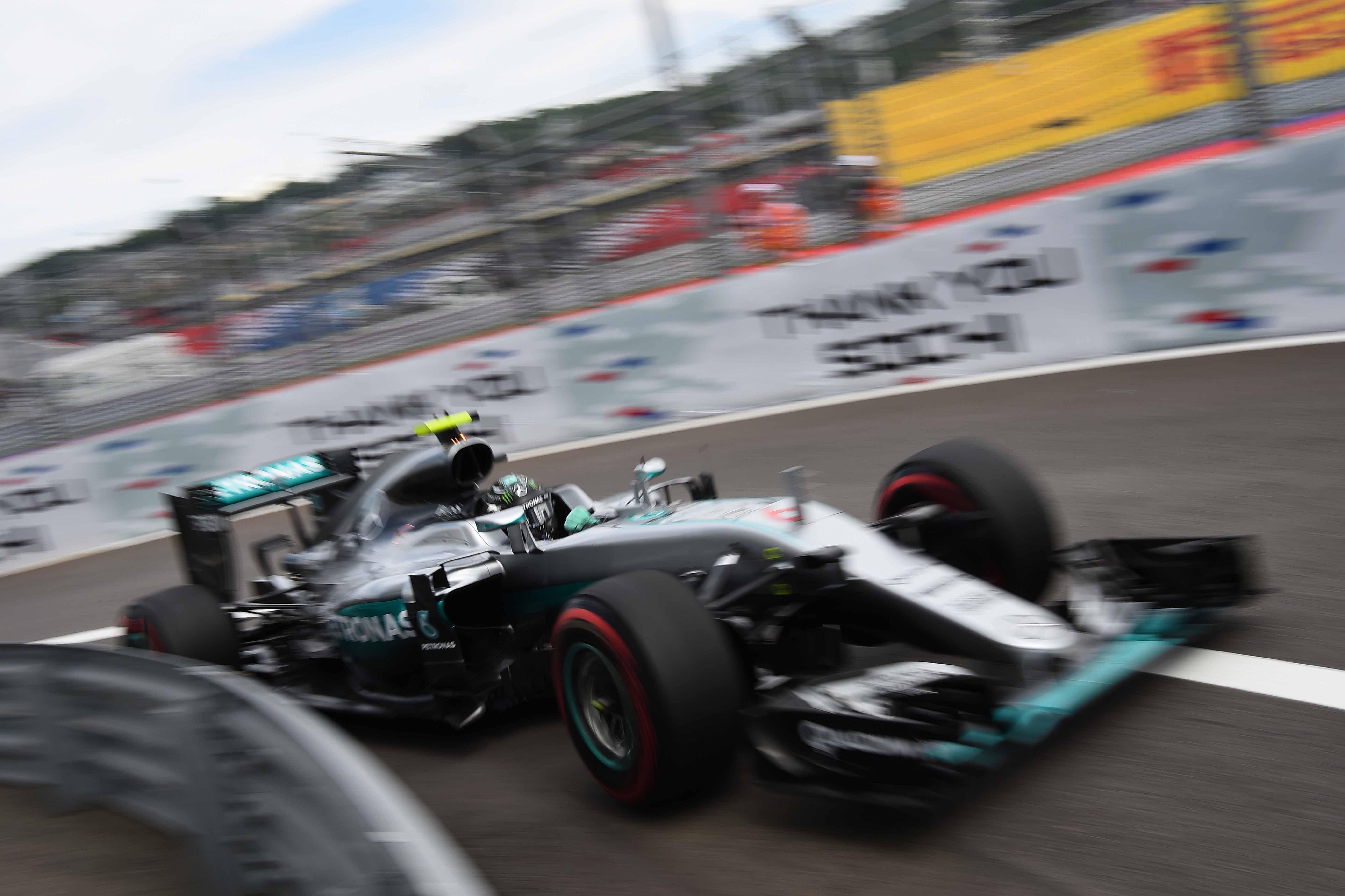 F1 - Rosberg en pole dans un fauteuil � Sotchi