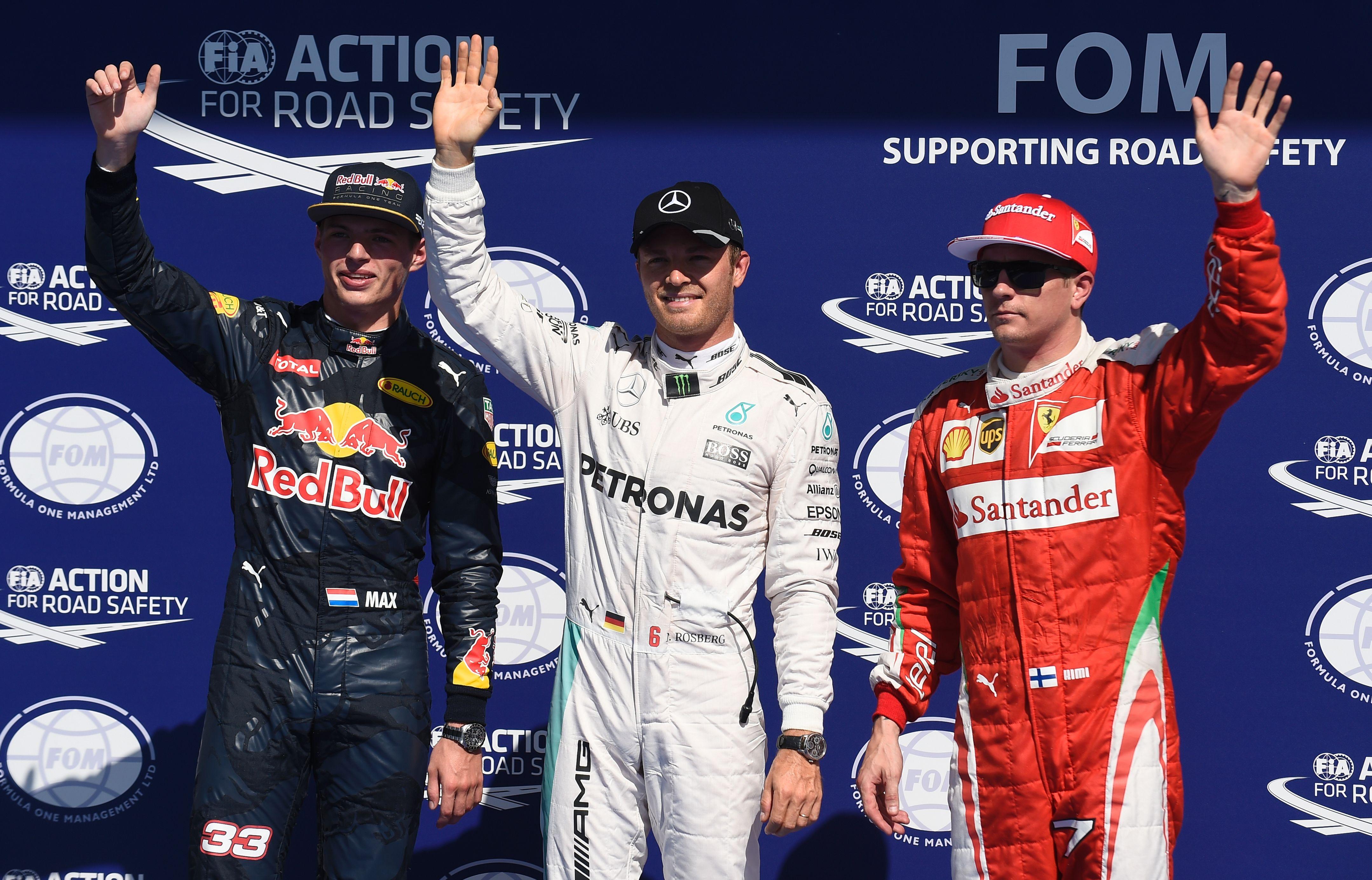 F1 - Rosberg reçu trois sur trois