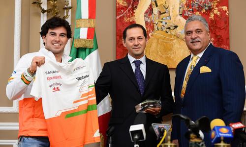 Sergio Pérez rejoint Force India - Formule 1 - Auto/Moto -