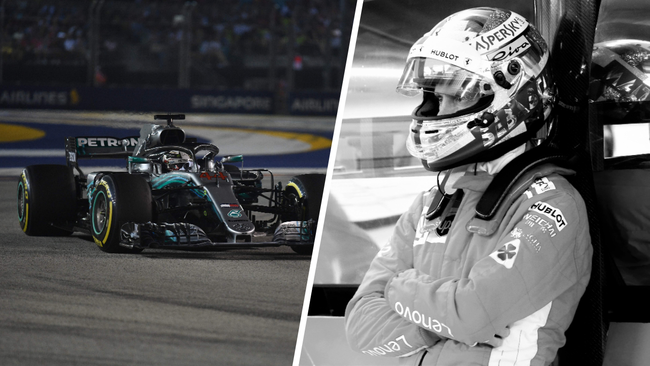 Auto/Moto - Tops/Flops GP Singapour : Hamilton royal, Ferrari absent
