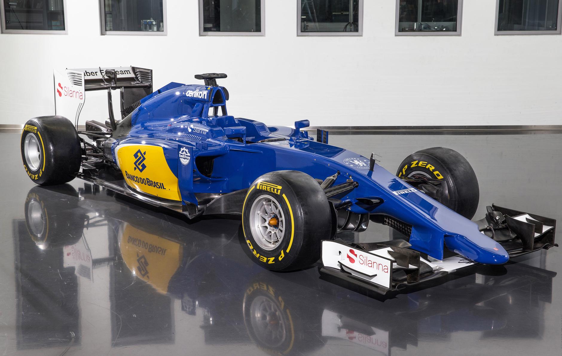 F1 - Une Sauber toute bleue