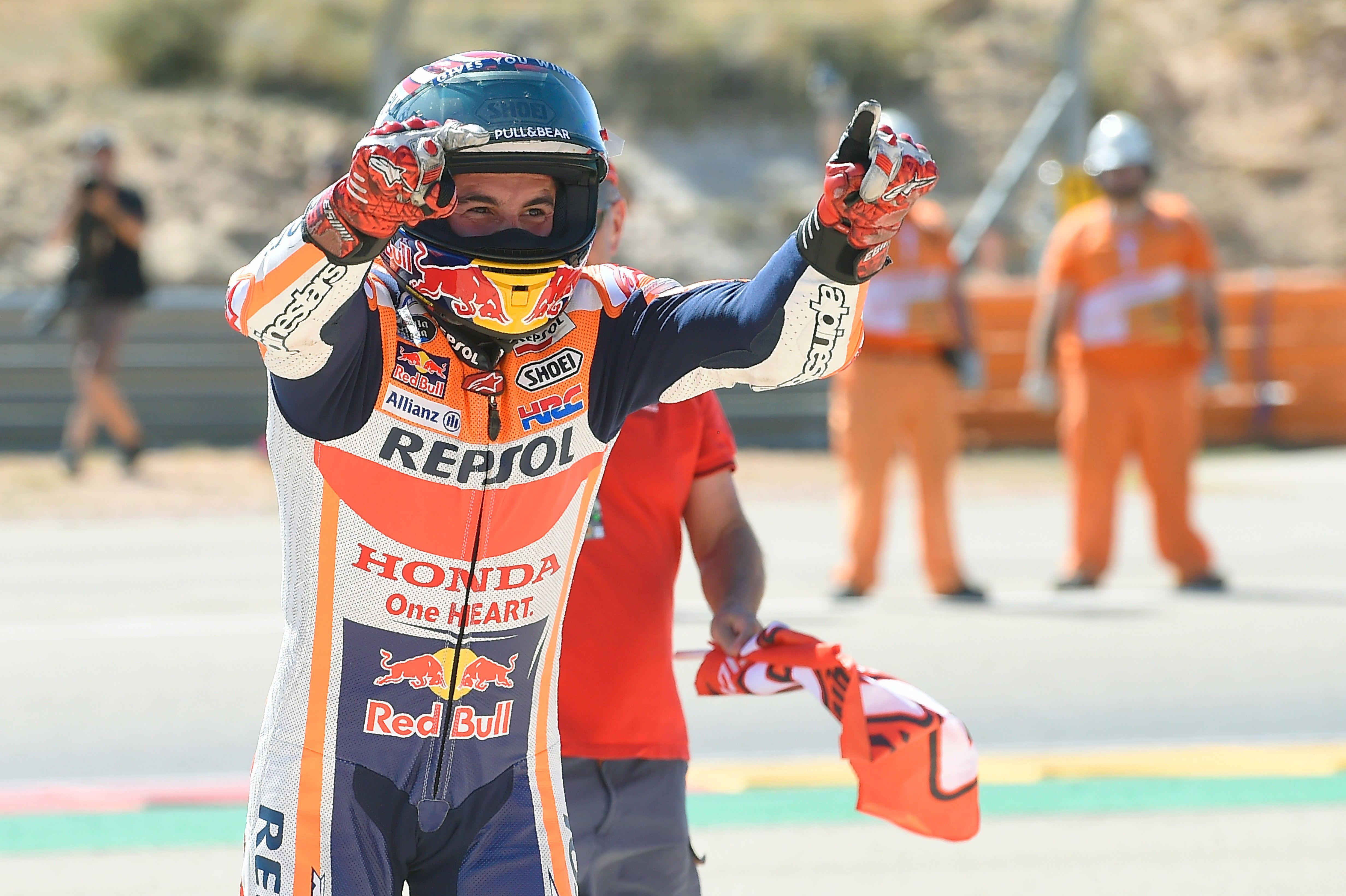 Auto/Moto - Aragon : Marquez fonce vers le titre