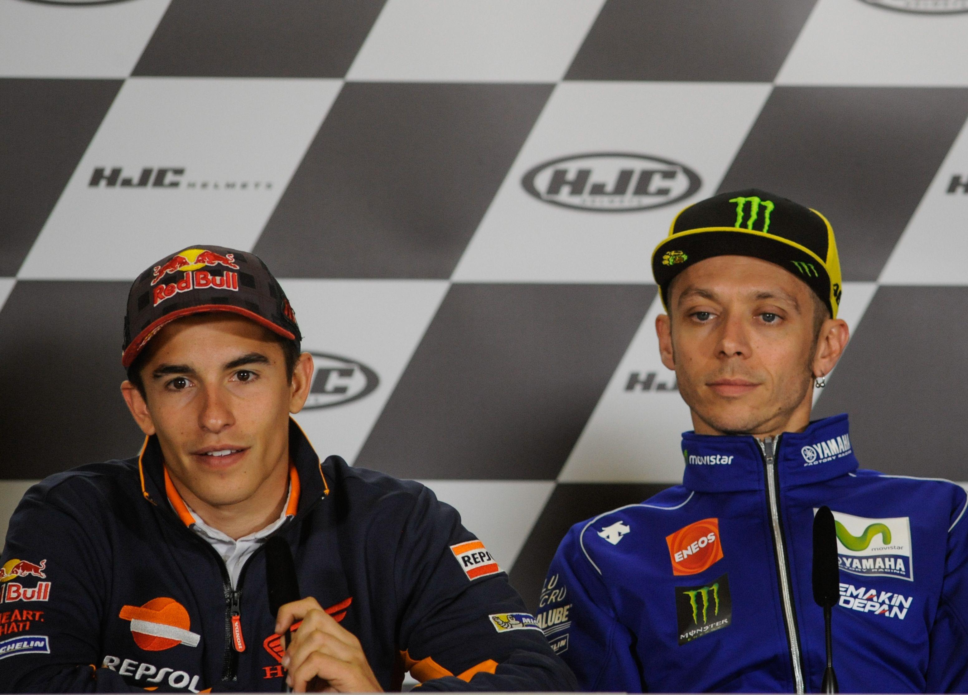 Auto/Moto - Entre Marquez et Rossi, l'apaisement n'est que de façade