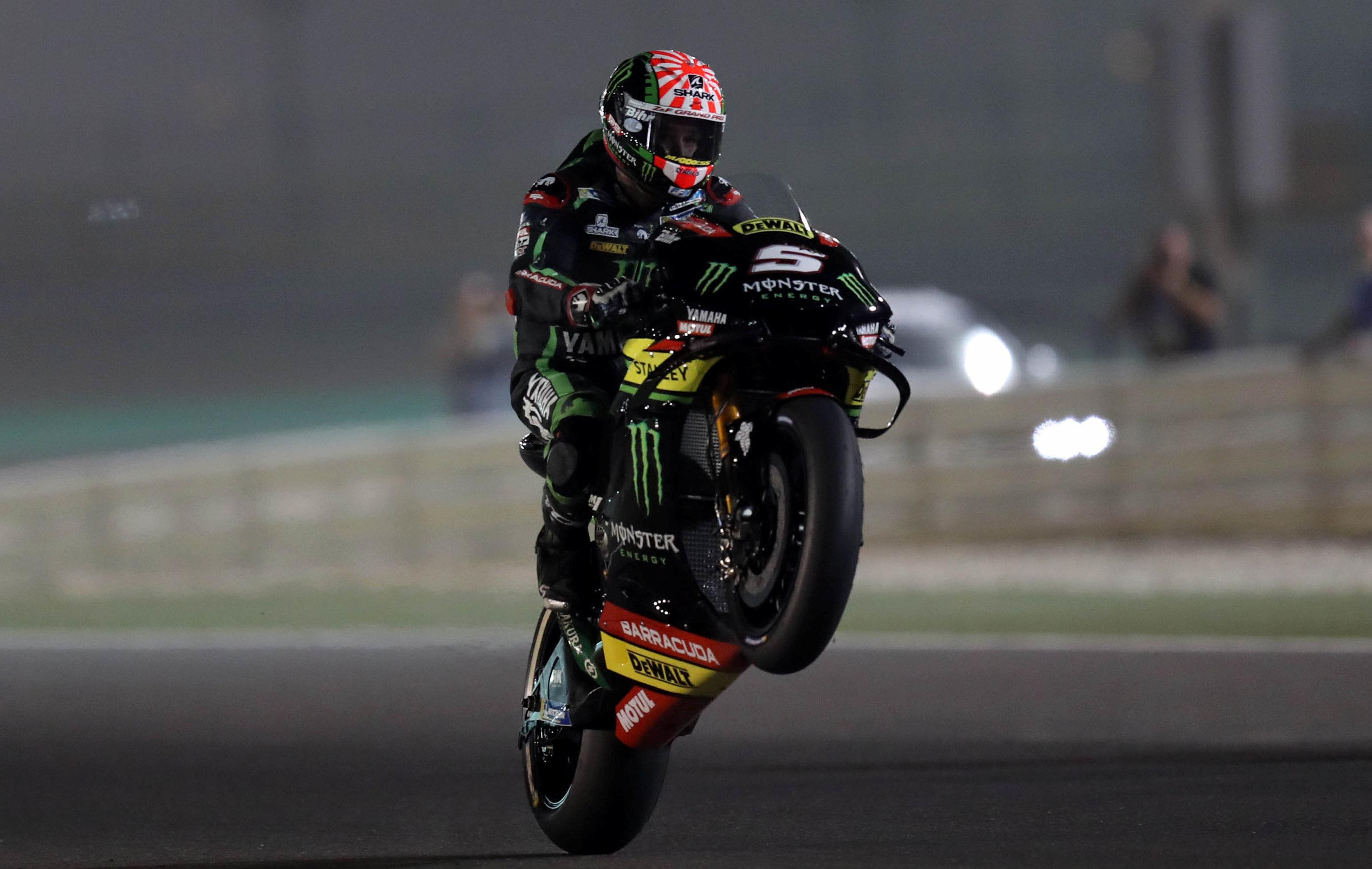 Auto/Moto - Moto GP : Zarco démarre en trombe avec une pole au Qatar