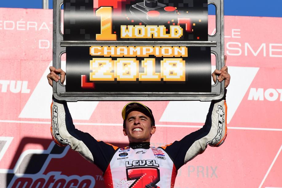 Auto/Moto - MotoGP : Marquez décroche une 5e couronne au panache