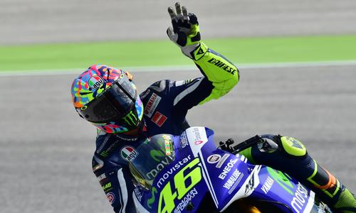 Rossi fait chuter Marquez - Moto - Auto/Moto -
