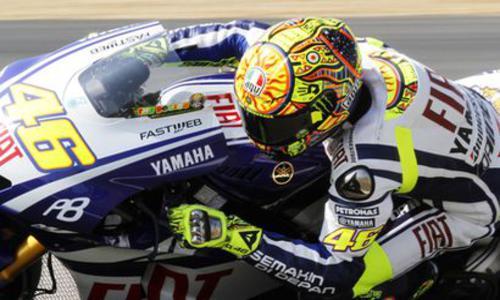 Rossi s'en sort pas mal - Moto - Auto/Moto -