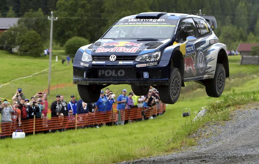 Rallye - Ogier s'�lance bien