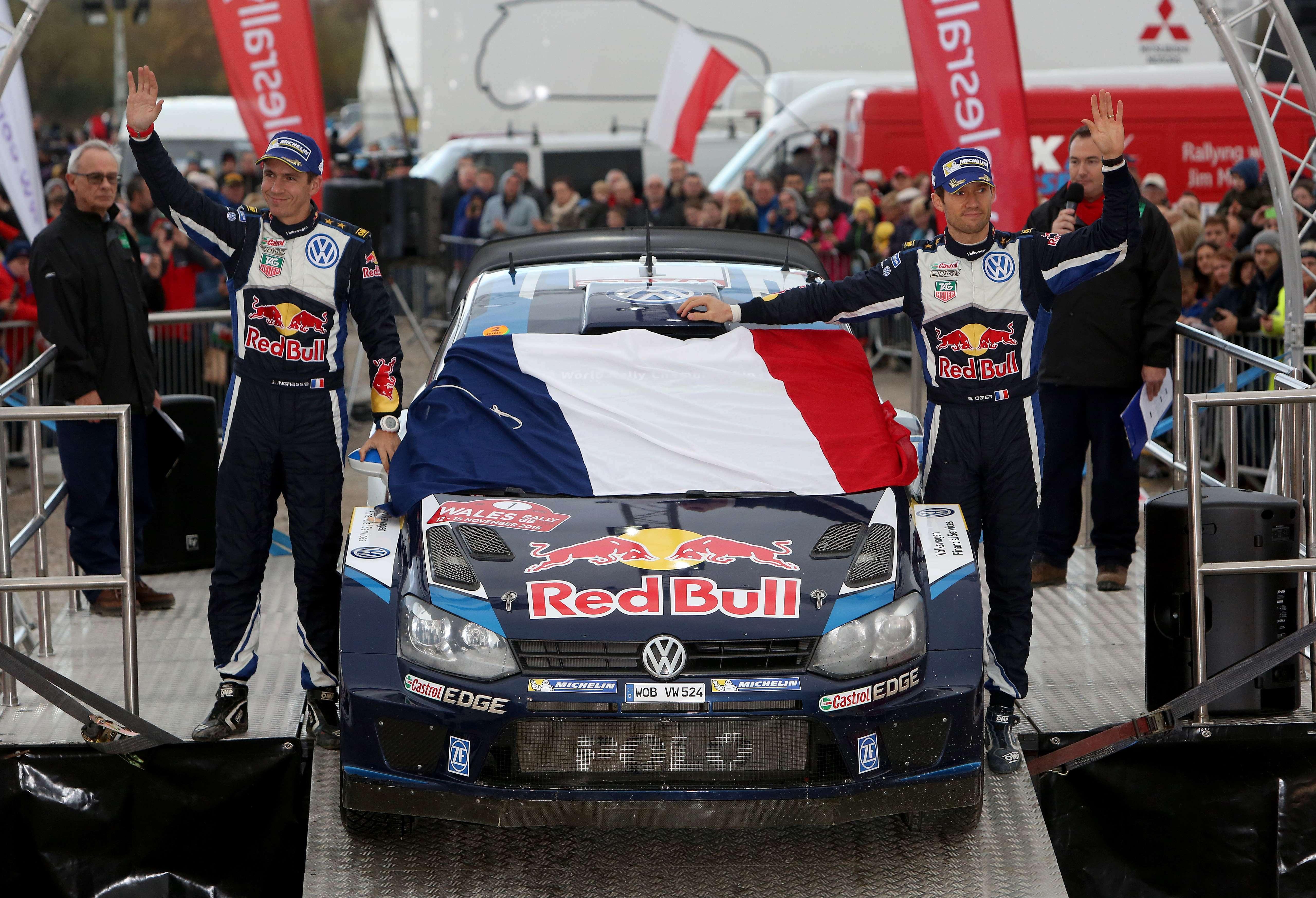 Rallye - Ogier, un succ�s en hommage aux victimes du 13 novembre