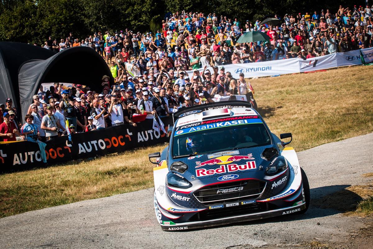 Auto/Moto - Rallye d'Allemagne : L'hégémonie d'Ogier ne tient plus qu'à un fil