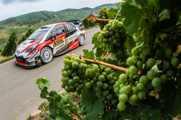 Auto/Moto - Rallye d'Allemagne : Tänak frappe un grand coup, Ogier devant Neuville