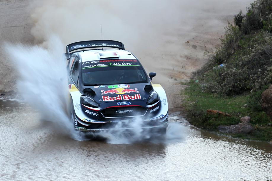 Rallye - Rallye du Mexique : Ogier leader, Loeb déchante avec une crevaison