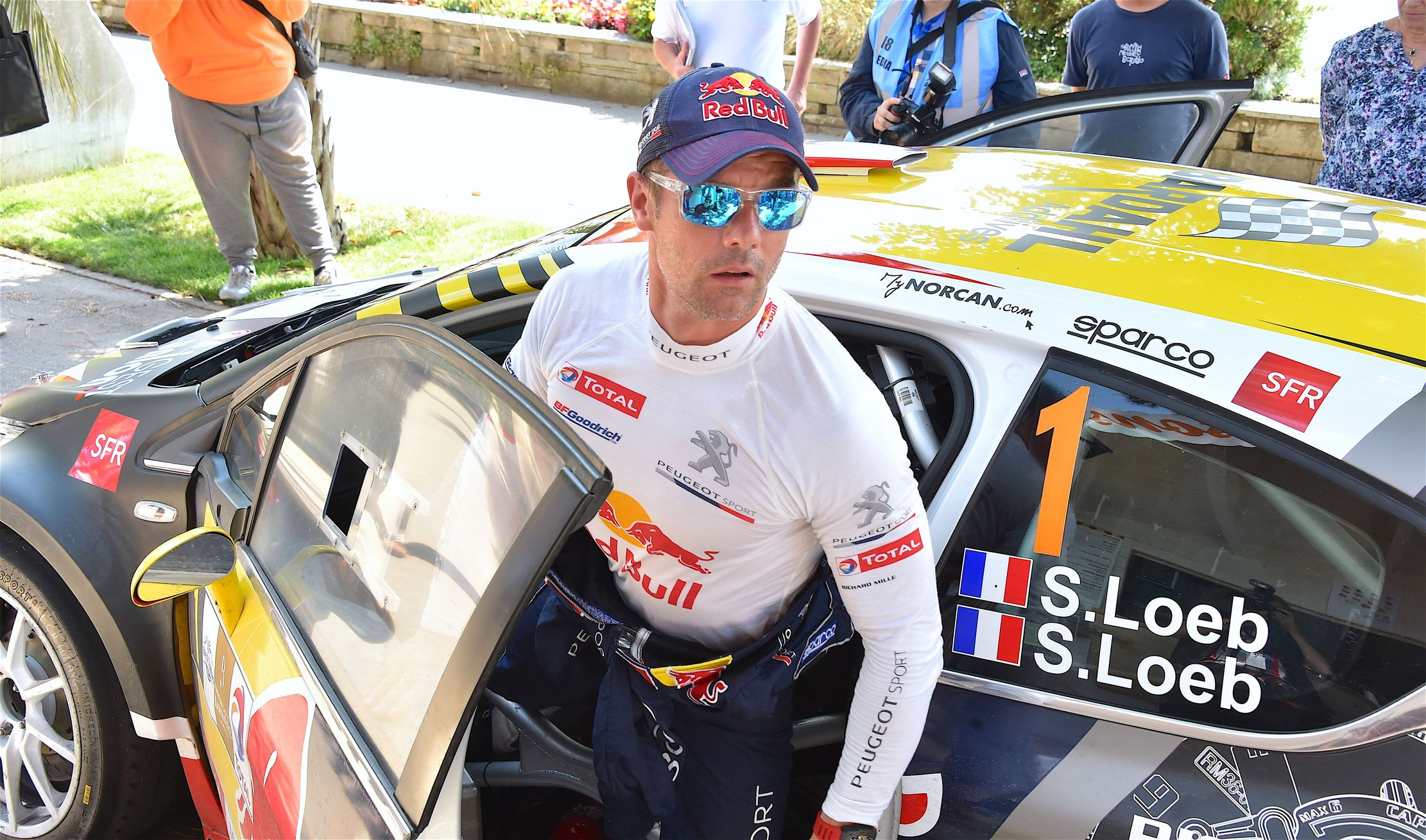 wrc s bastien loeb reprend du service en 2018 rallye auto moto. Black Bedroom Furniture Sets. Home Design Ideas
