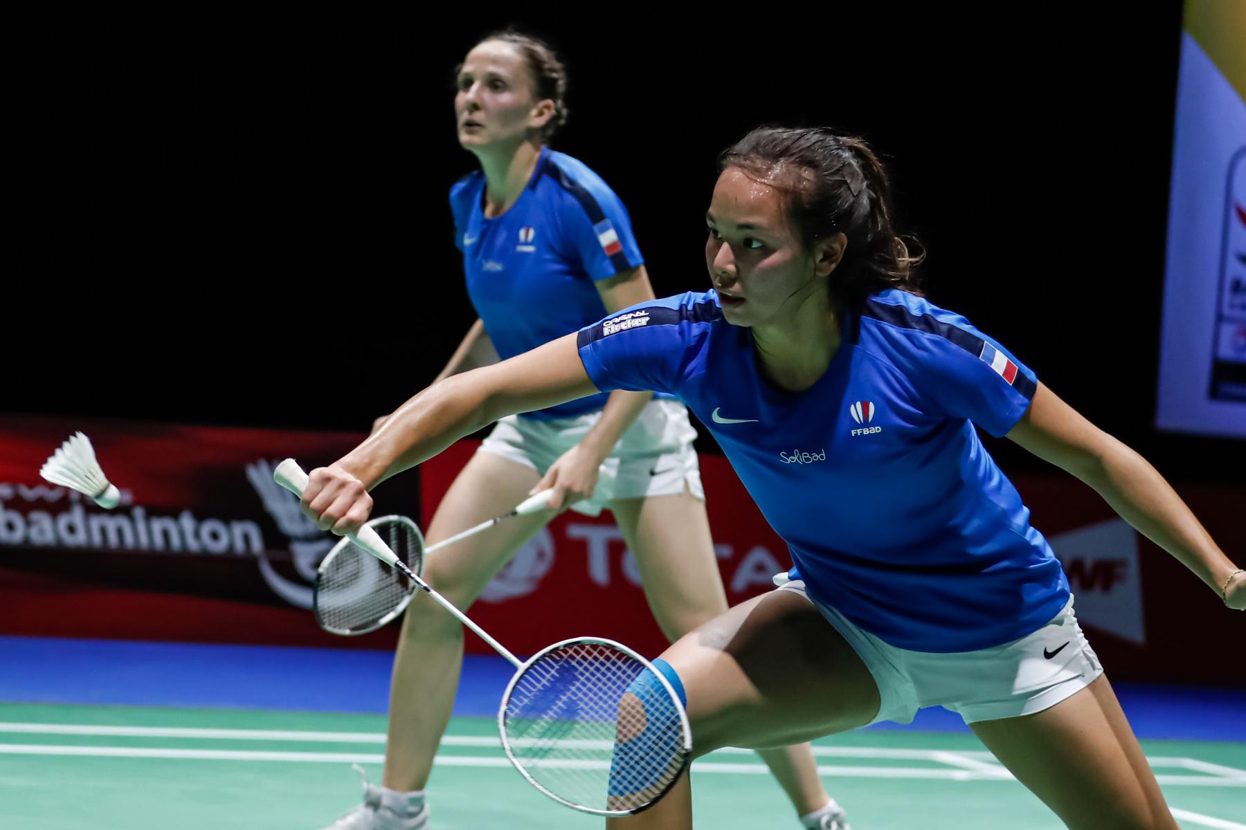 Badminton : terminus pour la délégation tricolore