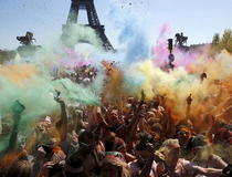 Color Run, Paris 2015