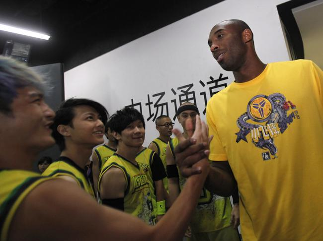 Kobe charity game in Shanghai