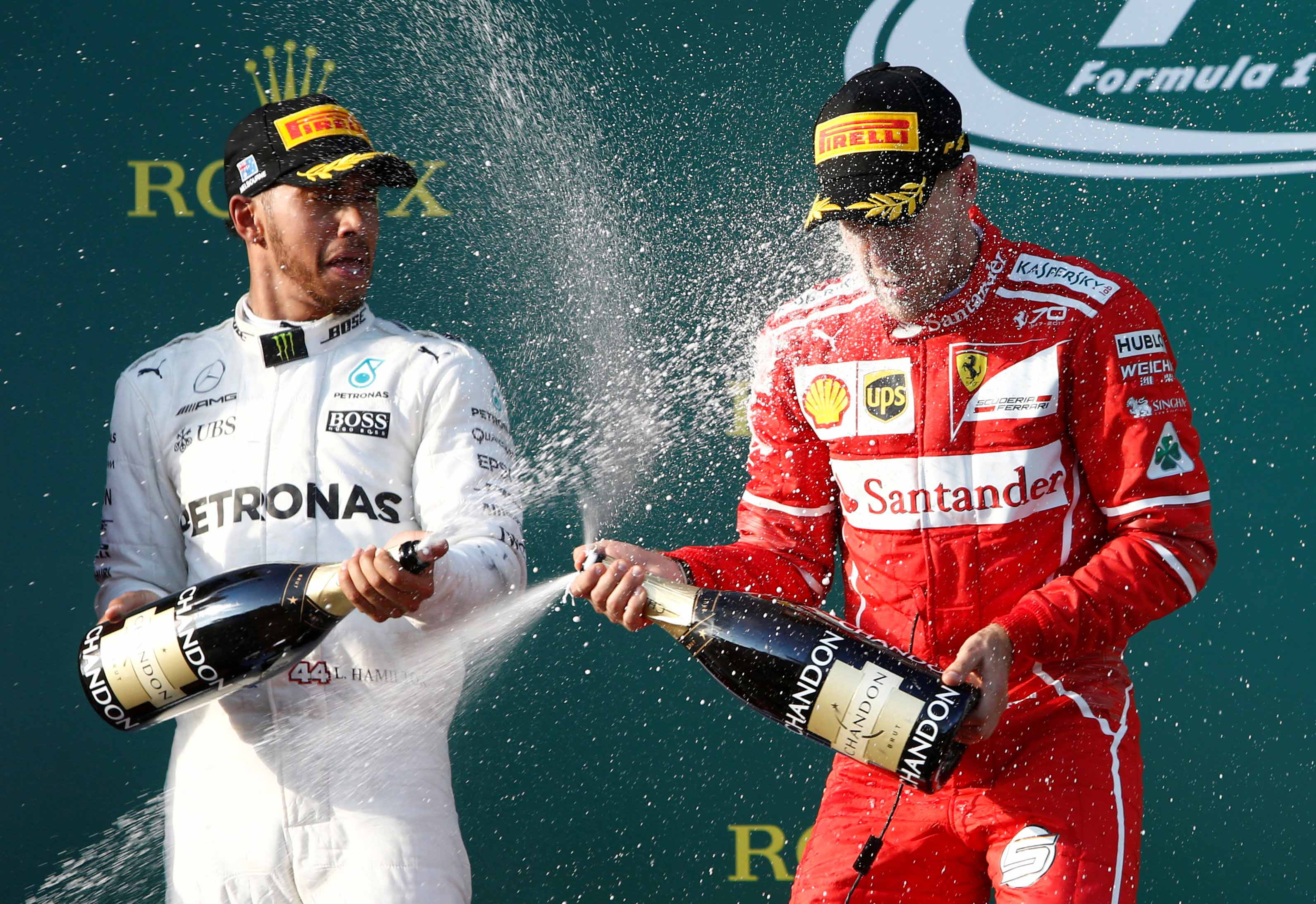 Vettel, Stade Français, Ronaldo : les 10 images fortes du week-end