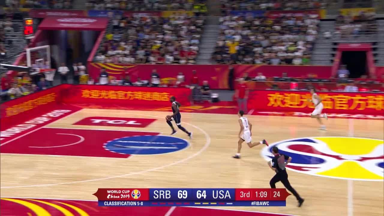 Basket - Eliminée par les Bleus en quarts, Team USA chute à nouveau contre la Serbie