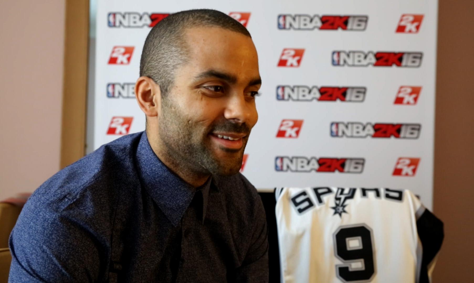 Basket - L'entretien jeux vid�os avec Tony Parker