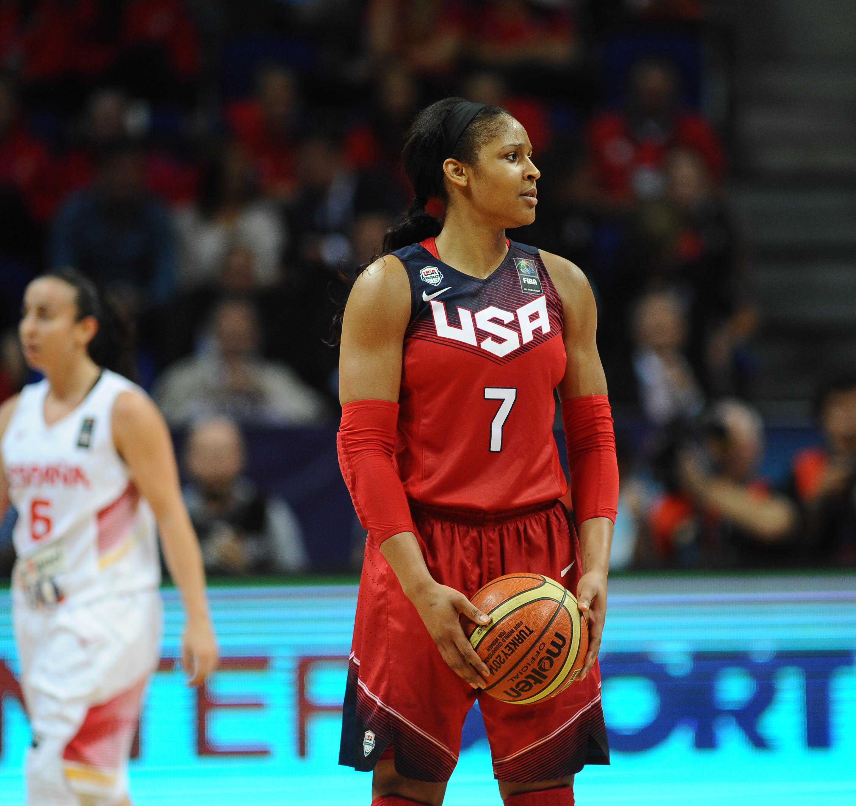 Basket - Le combat d'une basketteuse américaine pour la justice