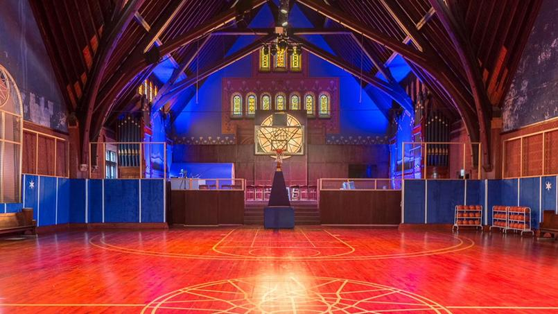 Basket - Une église de Chicago transformée en terrain de basket