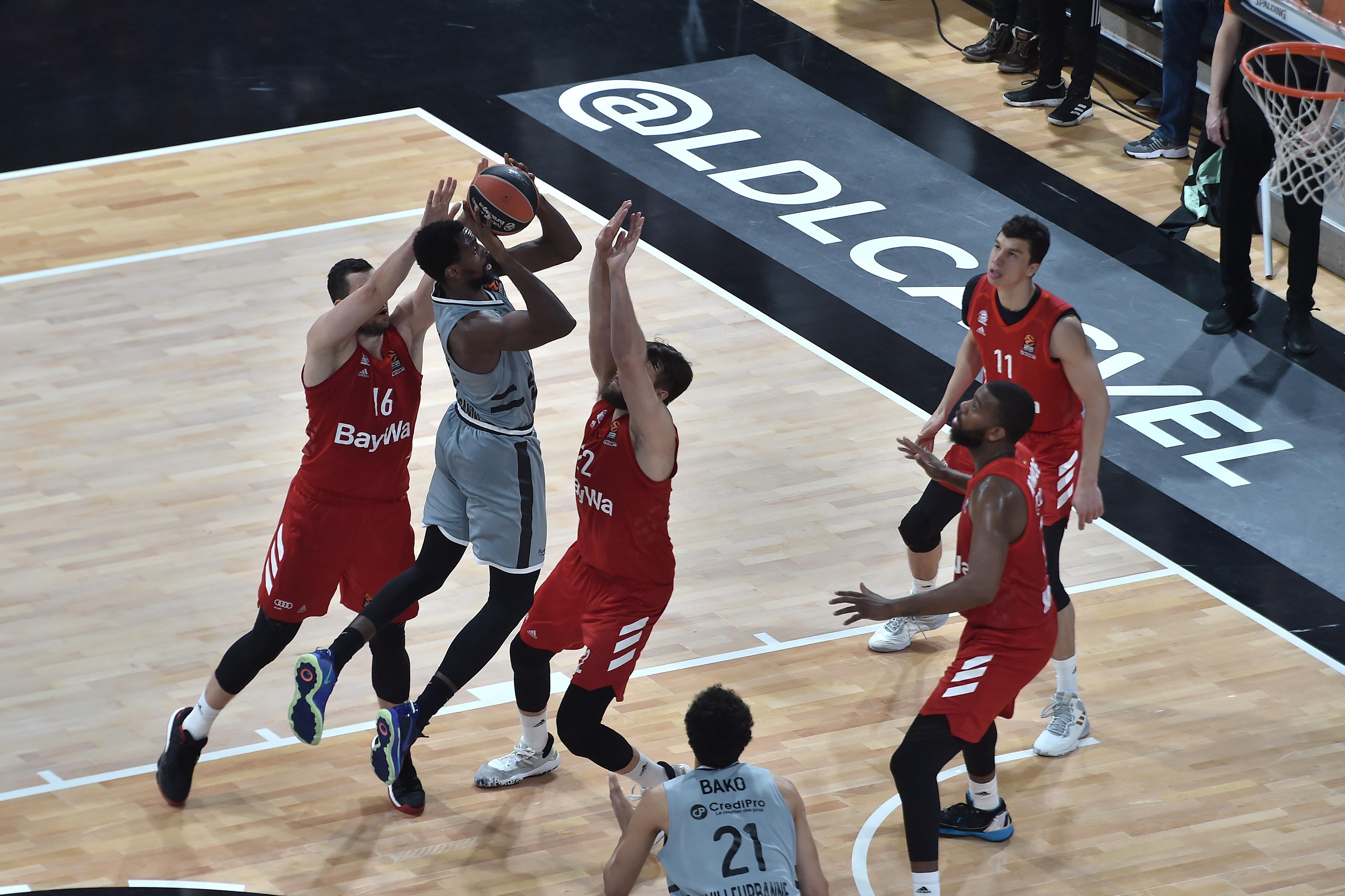 Basket - Coupes d'Europe - L'ASVEL renoue avec la victoire face au Bayern