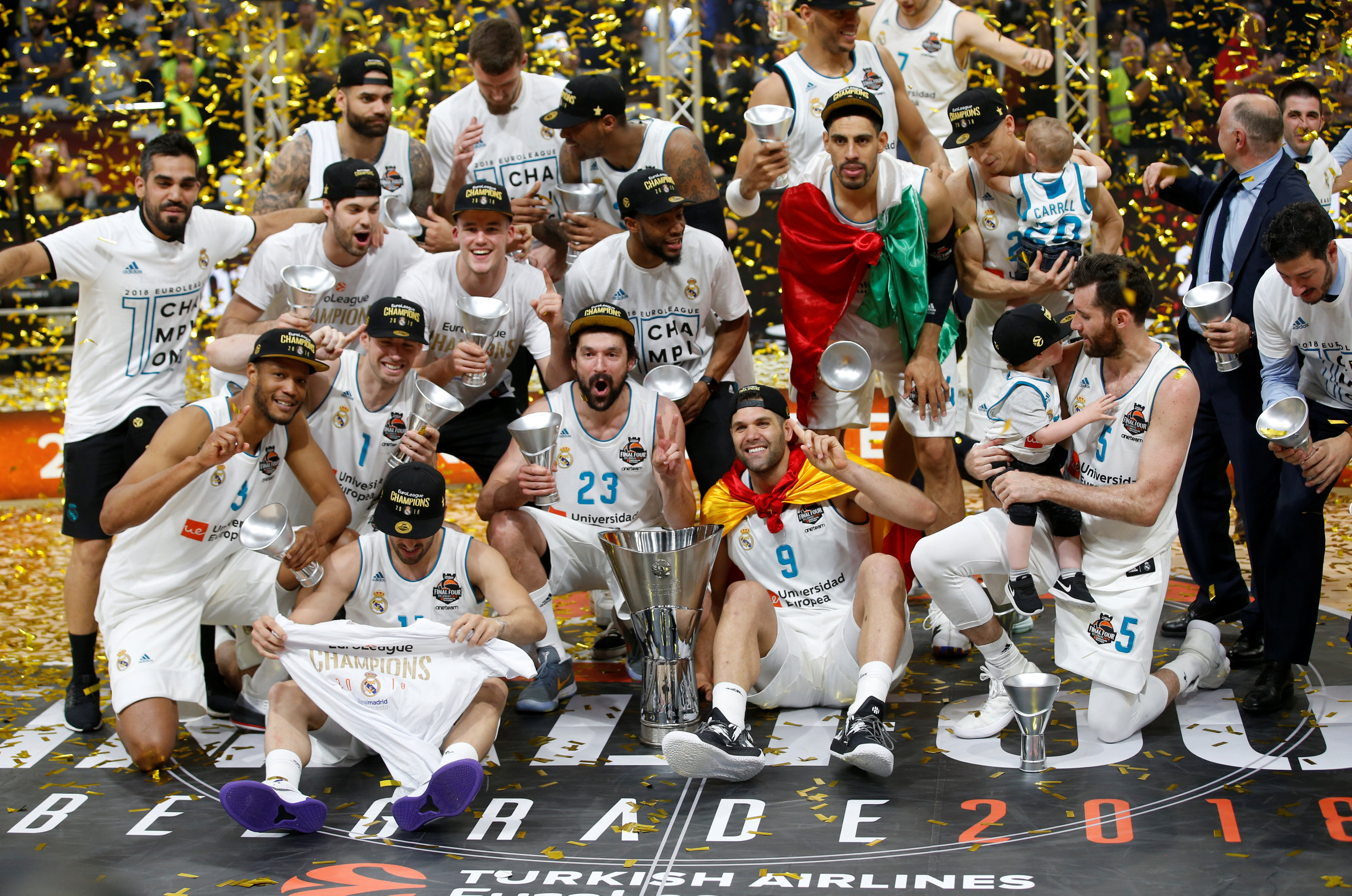 Basket - Coupes d'Europe - Le Real Madrid champion d'Europe avec un grand Fabien Causeur
