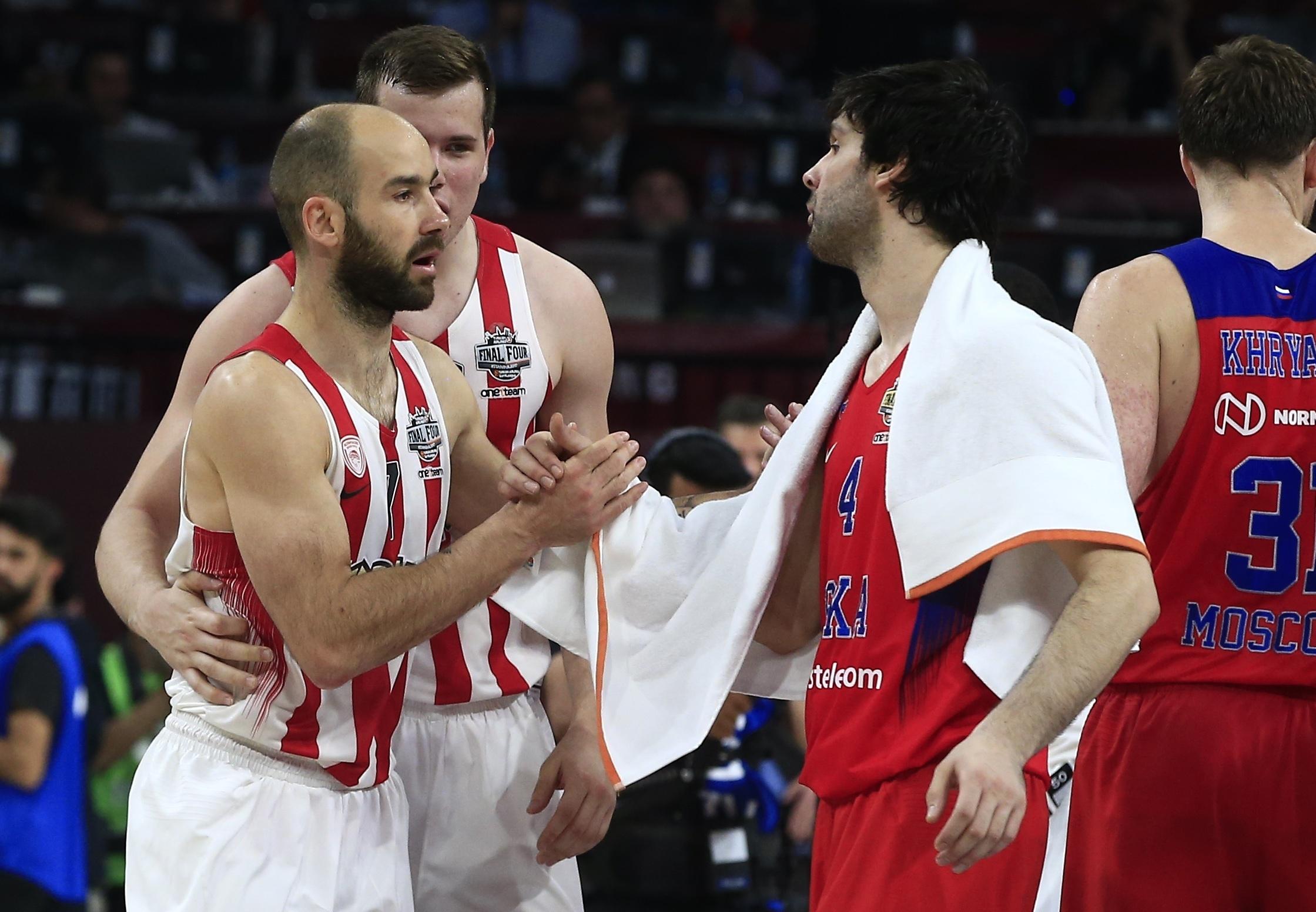 Basket - Coupes d'Europe - Spanoulis et l'Olympiakos renversent le CSKA et De Colo
