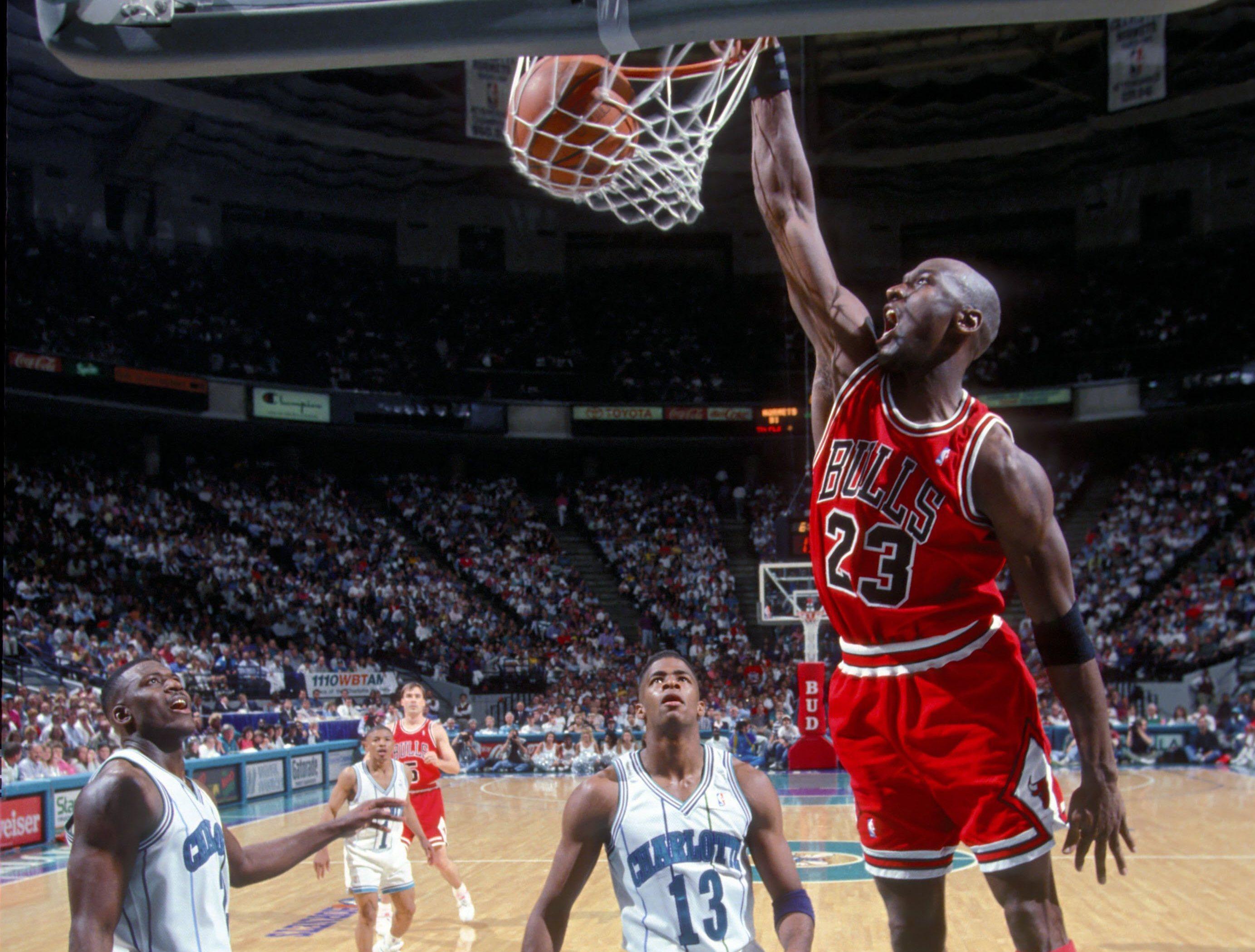 michael jordan chicago bulls charlotte hornets nba 1995 basketball basket ball. Black Bedroom Furniture Sets. Home Design Ideas