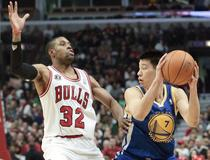 C.J. Watson (Chicago Bulls) contre Jeremy Lin (Golden State Warriors)
