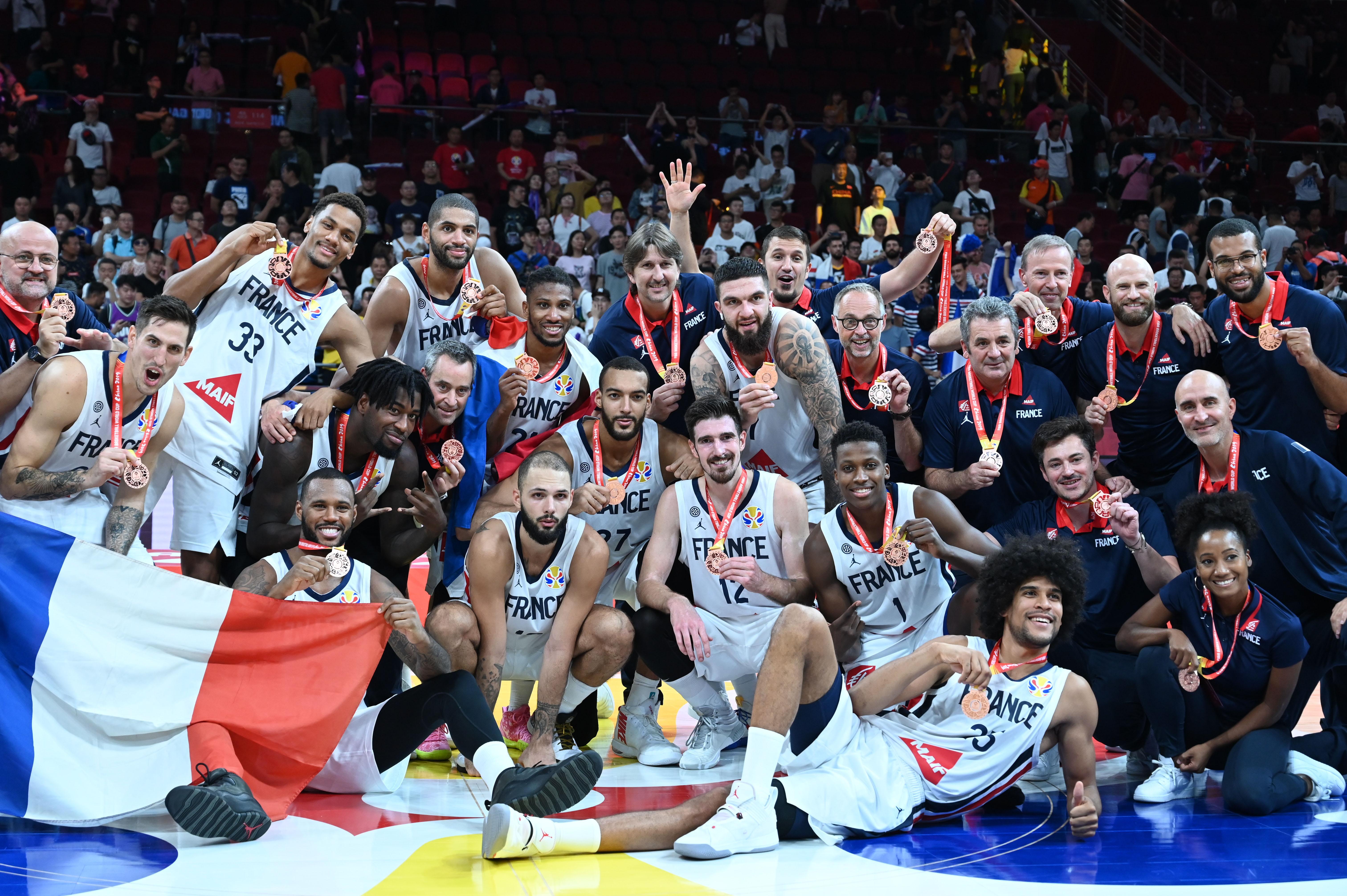 Basket - Equipe de France - Bronzés en Chine, ces Bleus ont du chien et de l'avenir