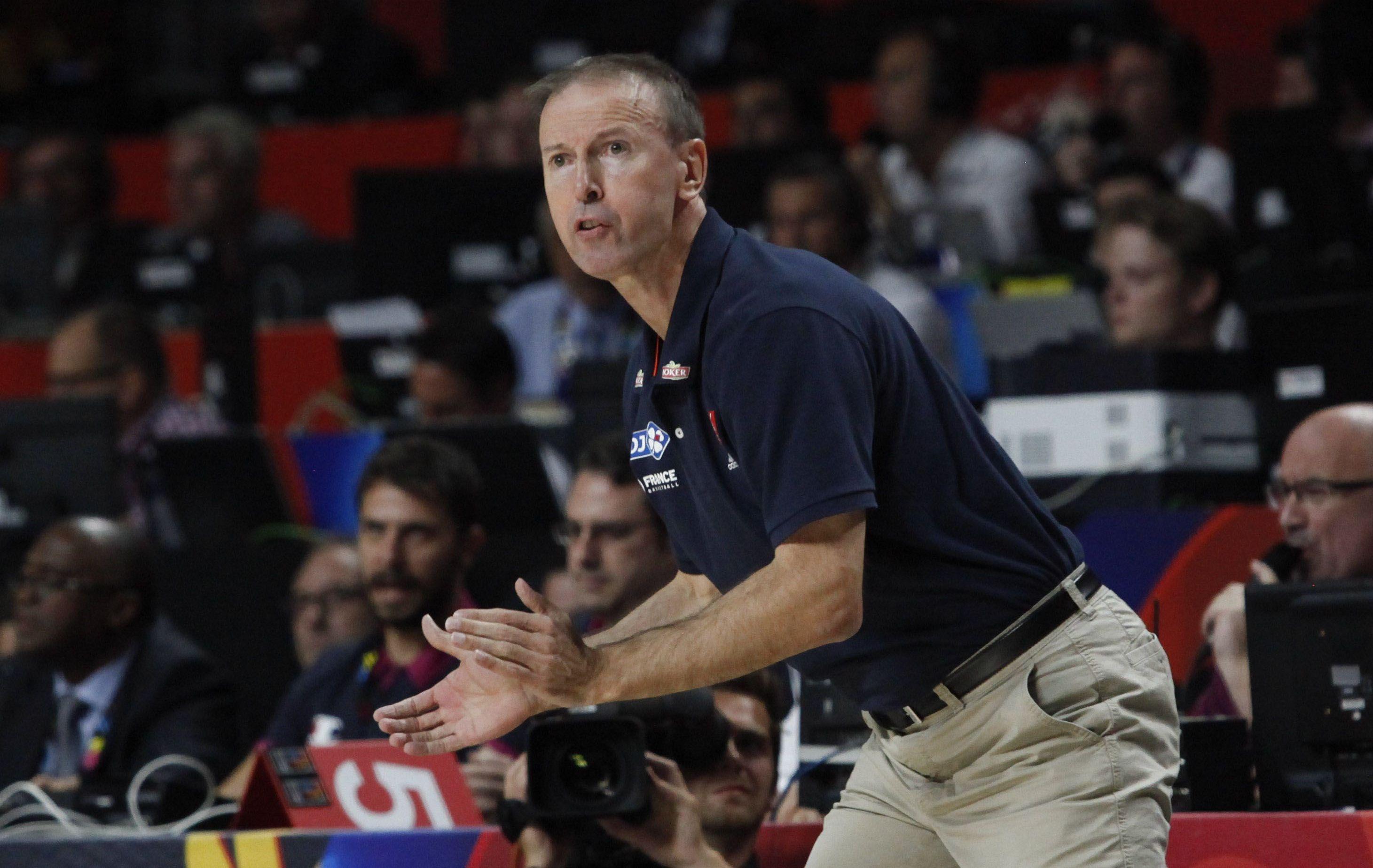 Basket - Equipe de France - Collet : �Faire la peau de ceux qui voudront nous la faire�