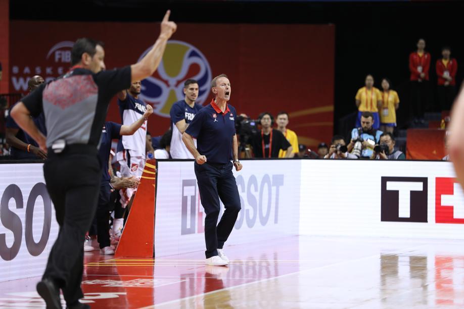 Basket - Equipe de France - Collet : «Probablement le meilleur match de la Coupe du monde»