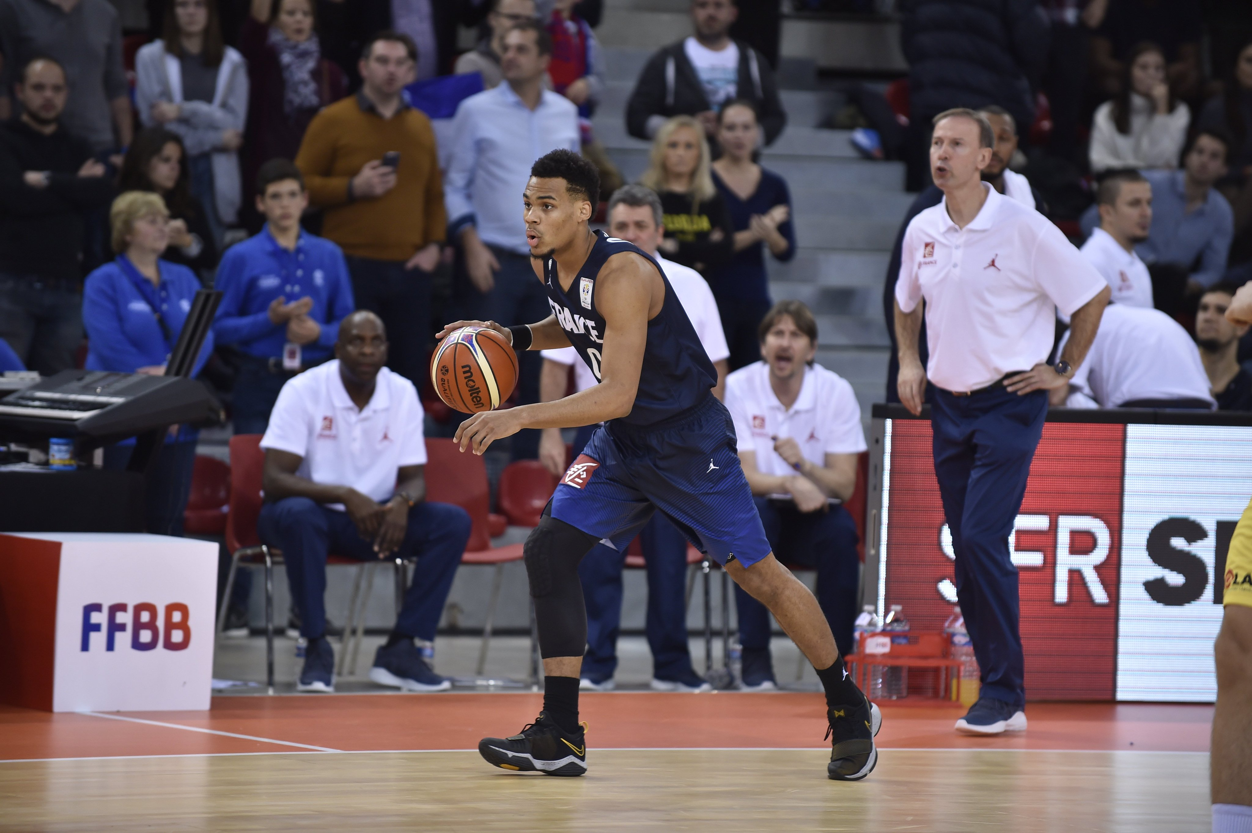 Basket - Equipe de France - Coupe du monde 2019 : Heurtel forfait, Okobo appelé en renfort