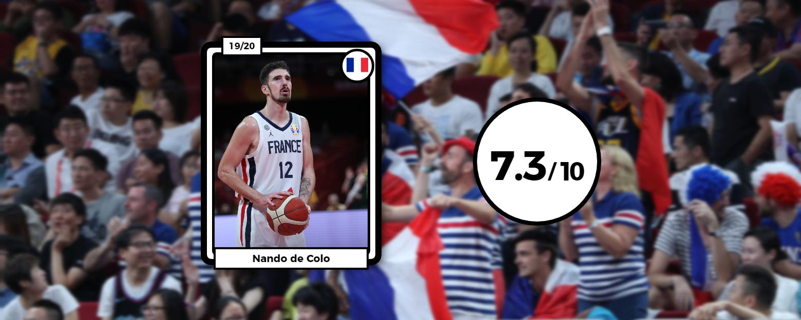 Basket - Equipe de France - Coupe du monde de basket : le carnet de notes des Bleus