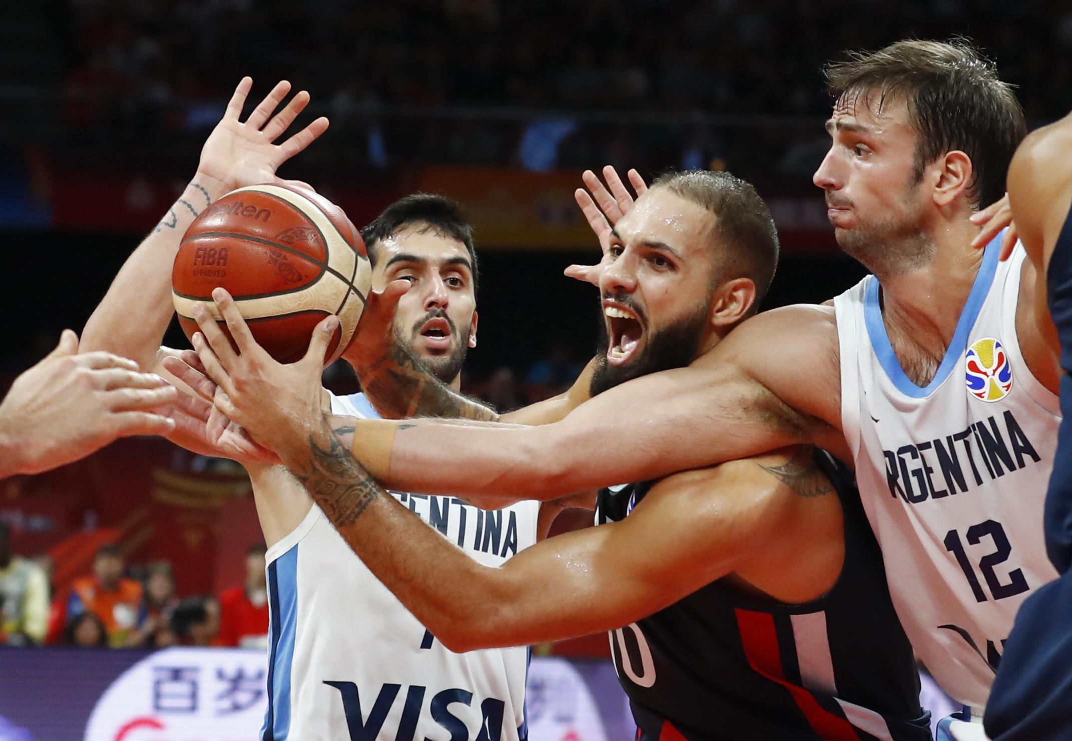 Basket - Equipe de France - Coupe du monde de basket : le résumé d'Argentine-France en vidéo