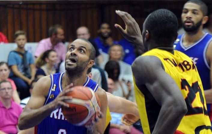 Basket - Equipe de France - Des Bleus renversants, un Parker bouillant