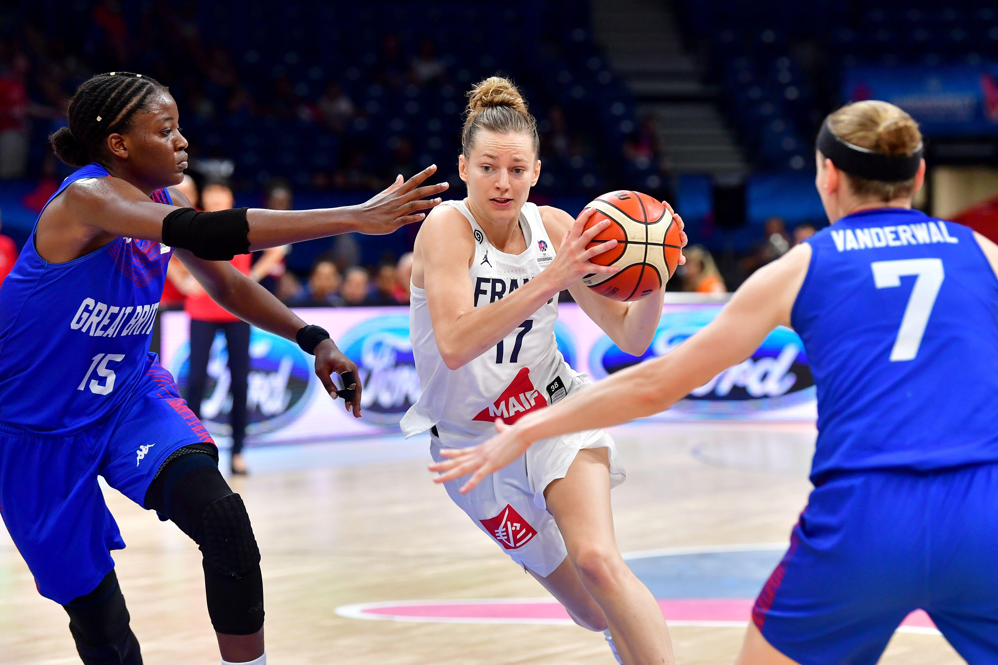Basket - Equipe de France - Euro 2019 F : les Bleues retentent leur chance face à l'Espagne en finale