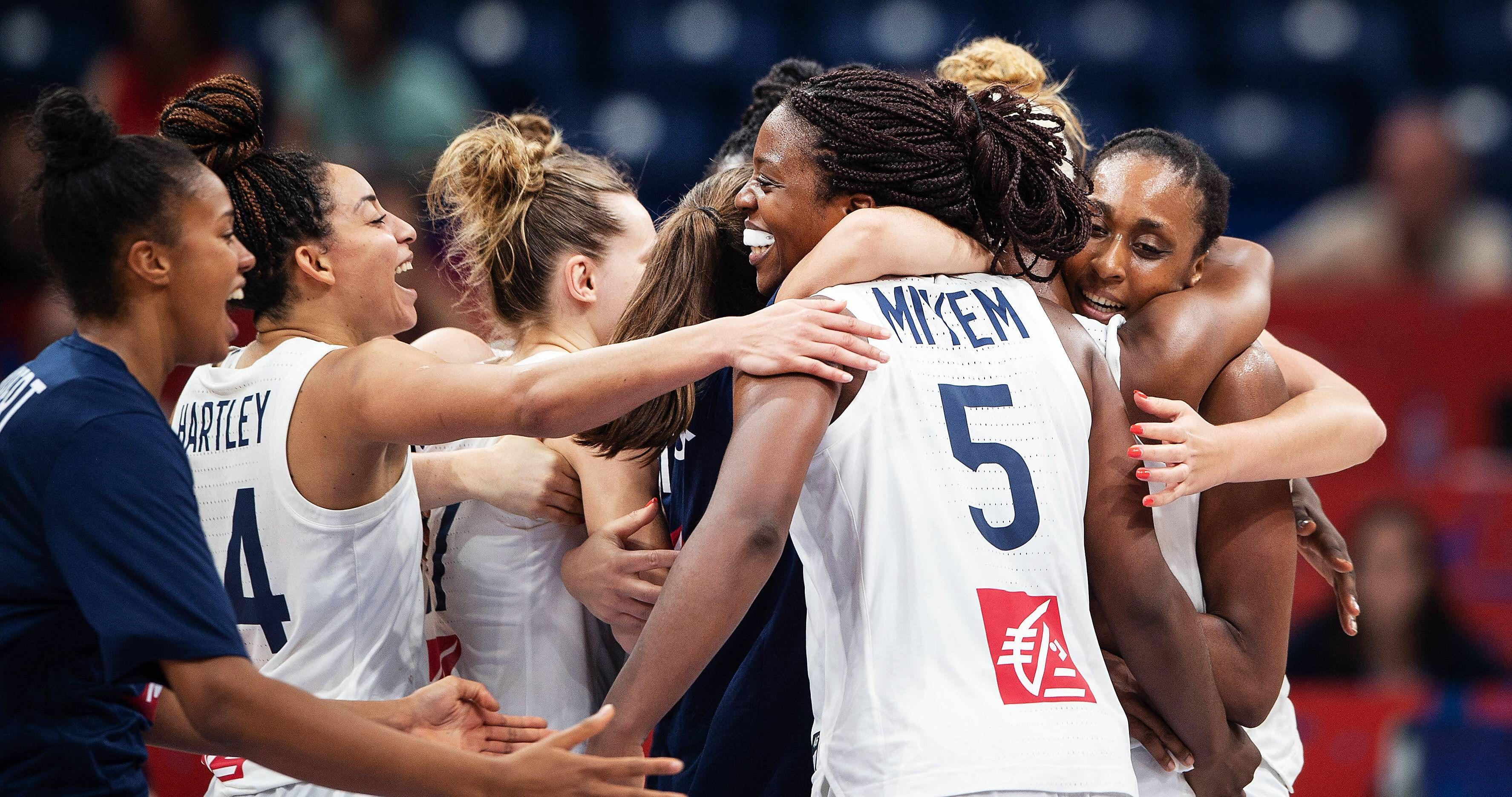 Basket - Equipe de France - Euro 2019 de basket : victorieuses de la Grande-Bretagne, les Bleues en finale