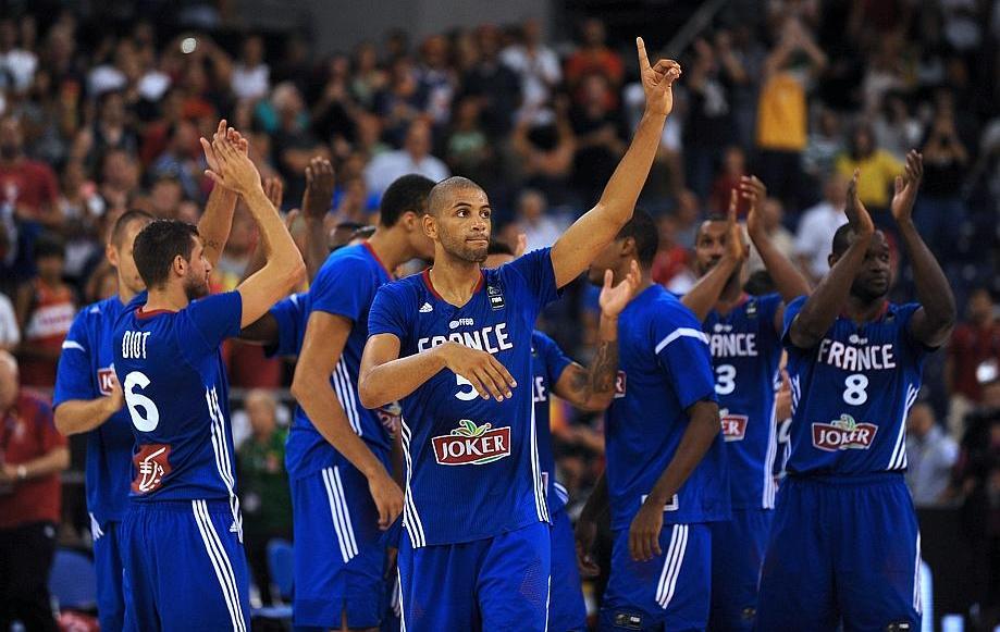 basket equipe de france france egypte en direct