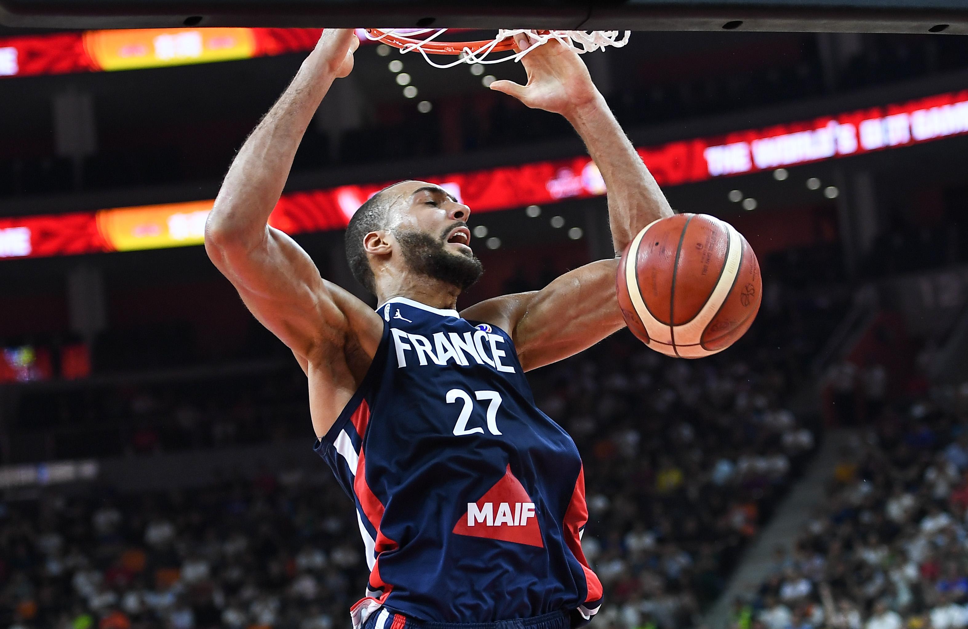 Basket - Equipe de France - Gobert, une muraille en Chine