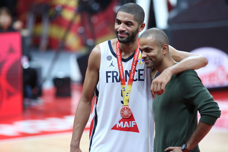 Basket - Equipe de France - La «fierté» de Tony Parker après le bronze des Bleus