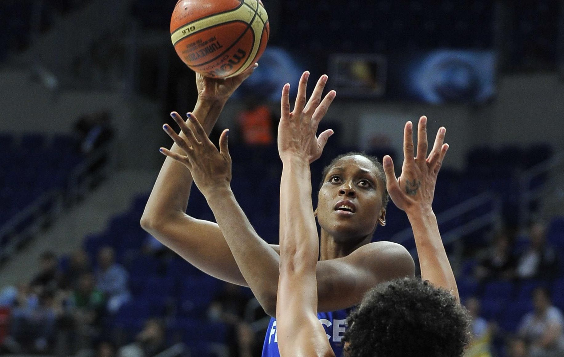 Basket - Equipe de France - La France tranquille face � Lituanie