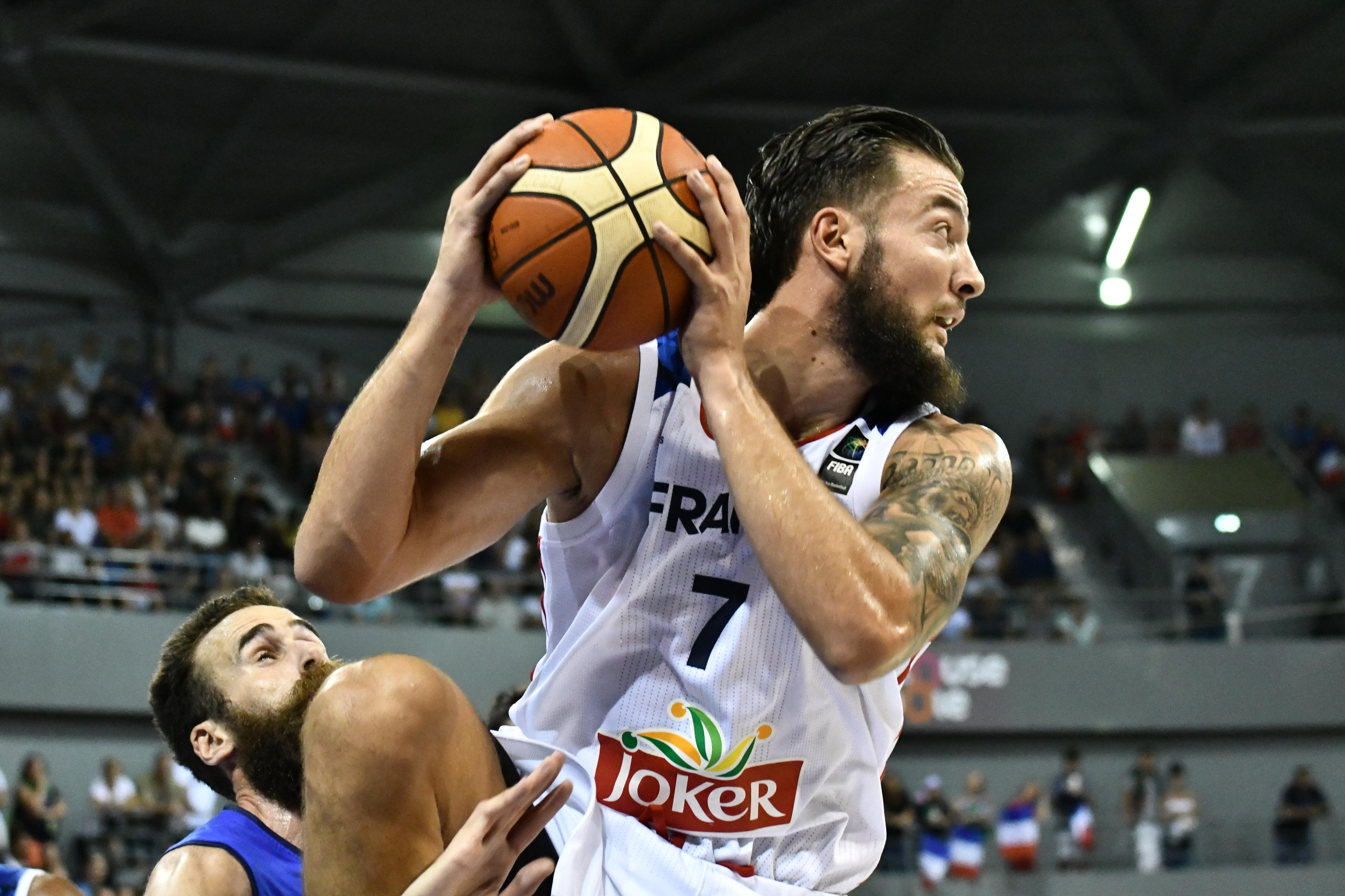 Basket - Equipe de France - La passe de trois pour la France face à l'Italie