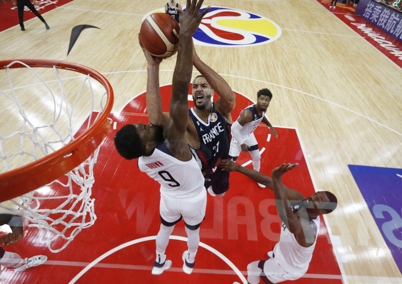 Basket - Equipe de France - Le chantier de Rudy Gobert contre les Etats-Unis en vidéo