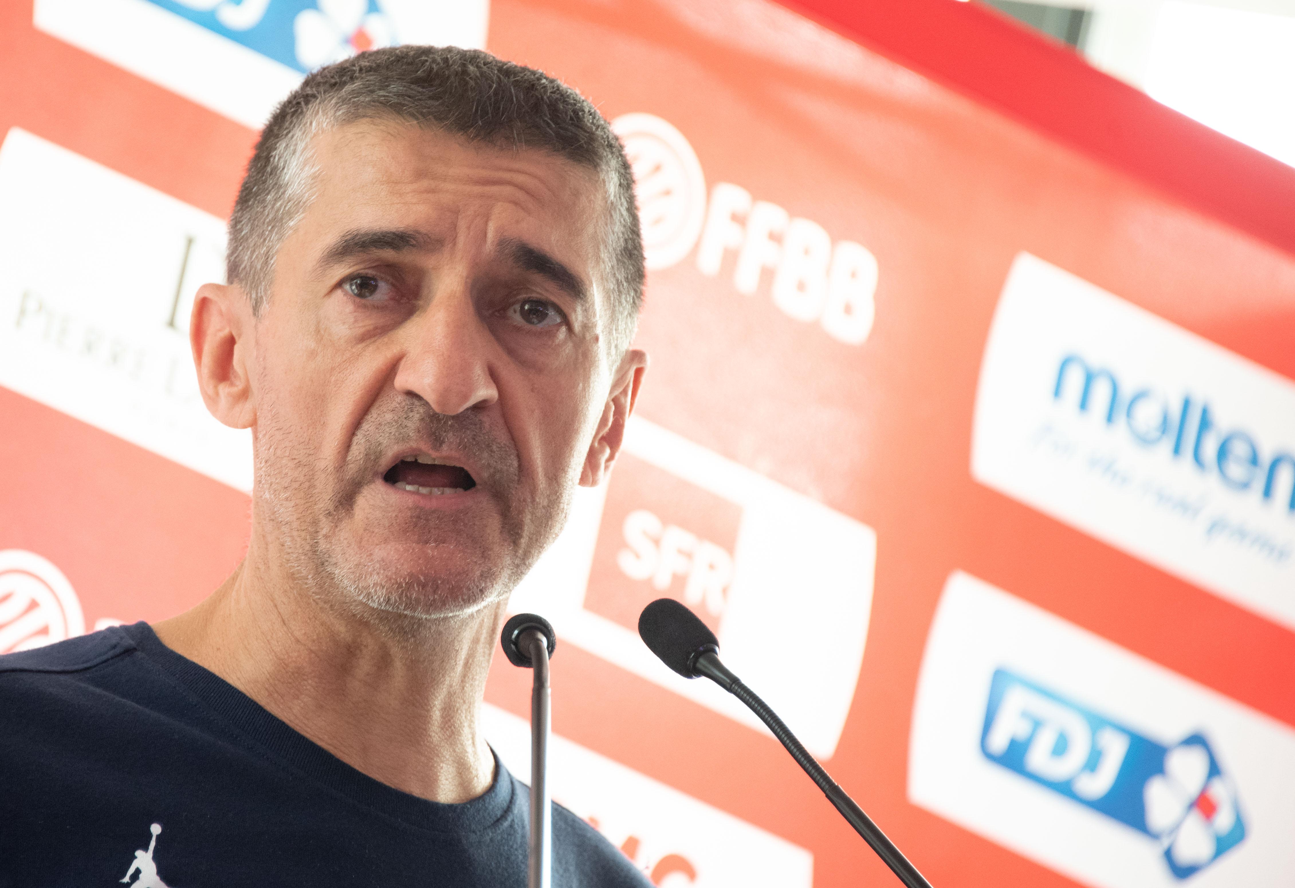 Basket - Equipe de France - Basket : le président Siutat regrette le manque d'intérêt du gouvernement pour les Bleus
