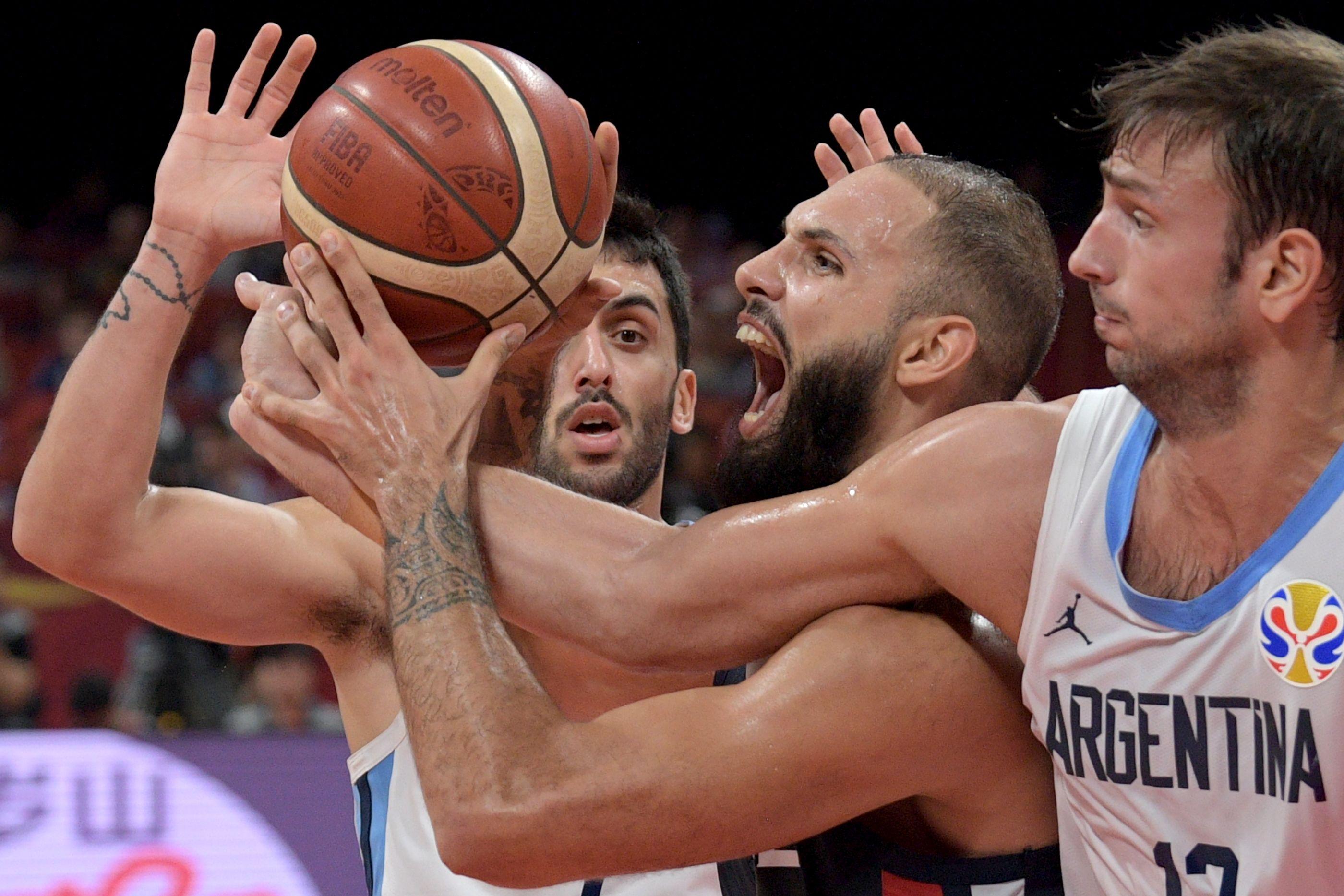 Basket - Equipe de France - Le rêve bleu se fracasse sur le mur argentin