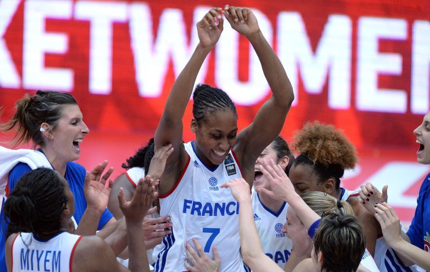 Basket - Equipe de France - Les Bleues encore dans le dernier carr�