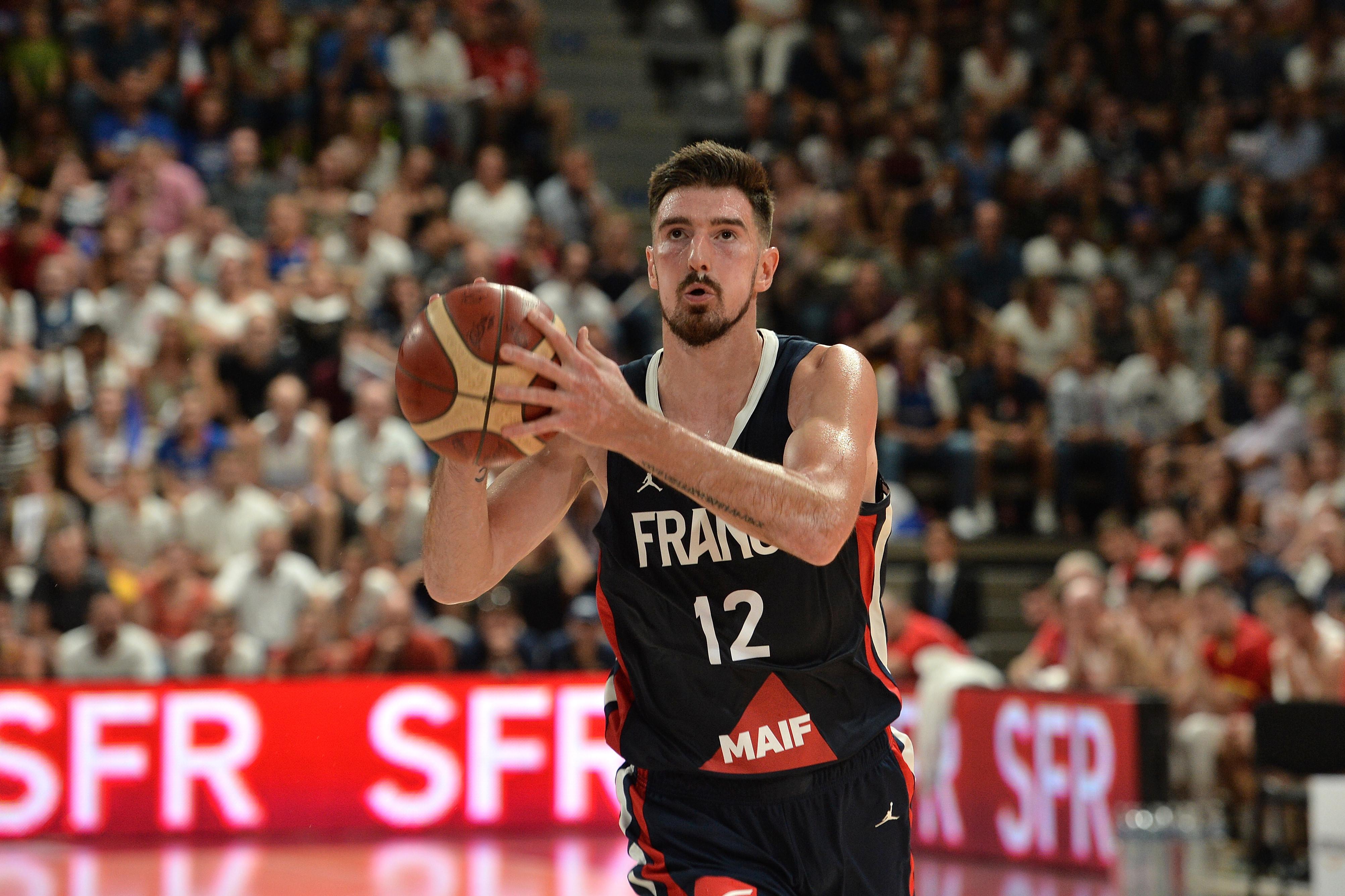 Basket - Equipe de France - Les Bleus en progrès face au Brésil